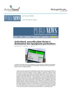 Publi-News • Février 2016