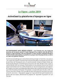 Le Figaro • Juillet 2019